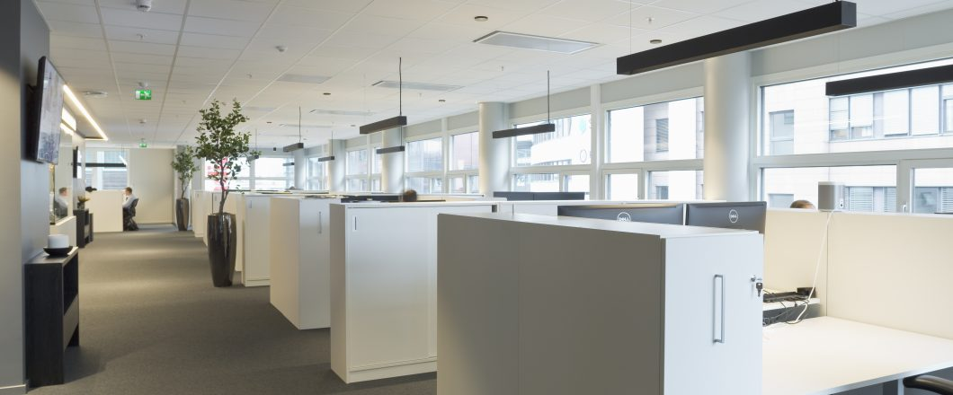 Open-office lighting