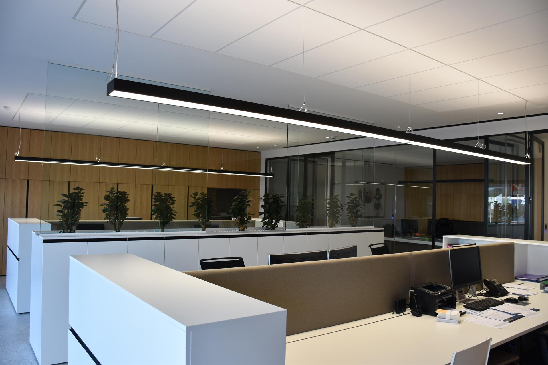 office lighting solutions. Visual Comfort With An Elegant Lighting Solution In A New Office Building Solutions O