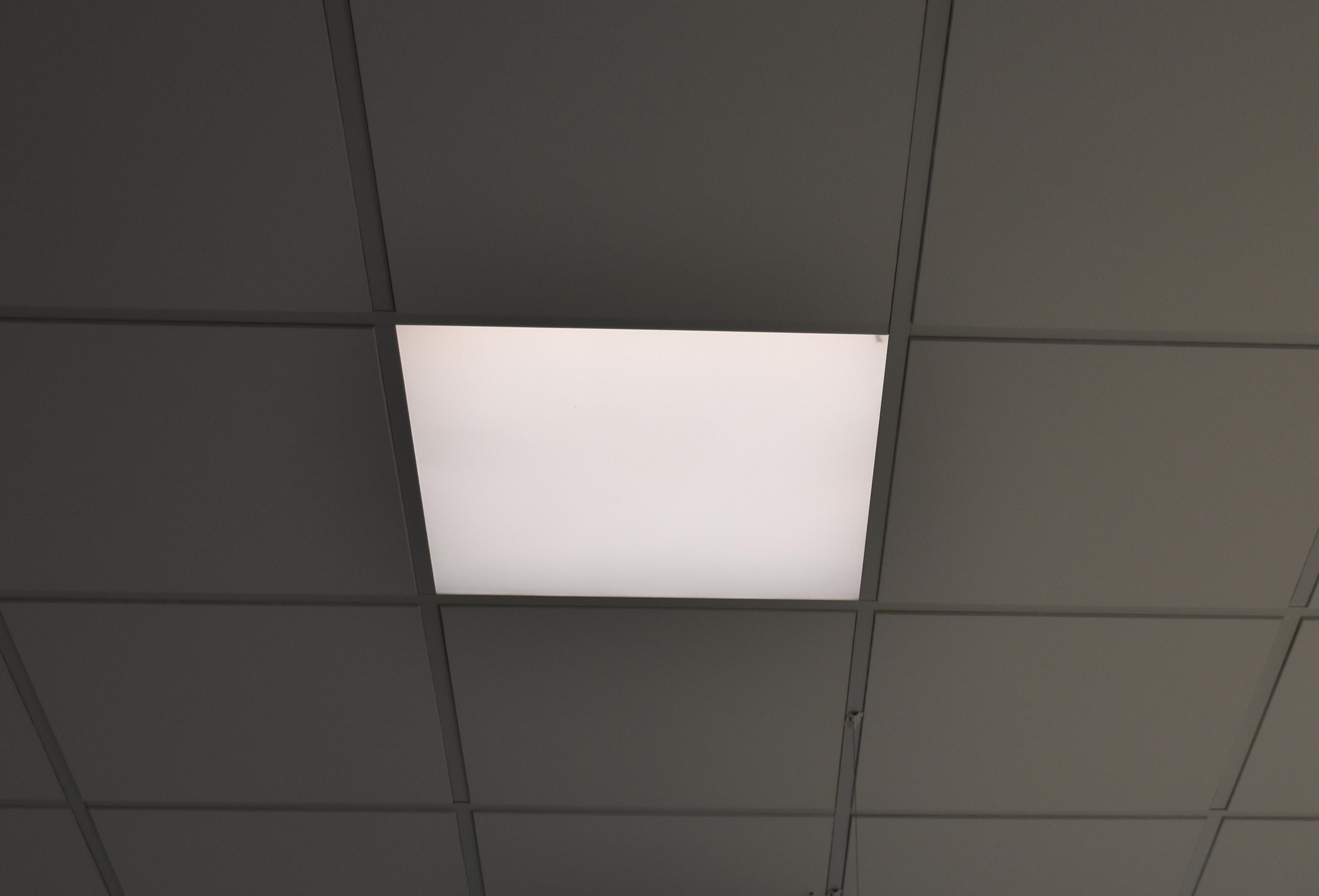 Arun led led luks arun matches the most common sizes of ceiling tiles dailygadgetfo Image collections