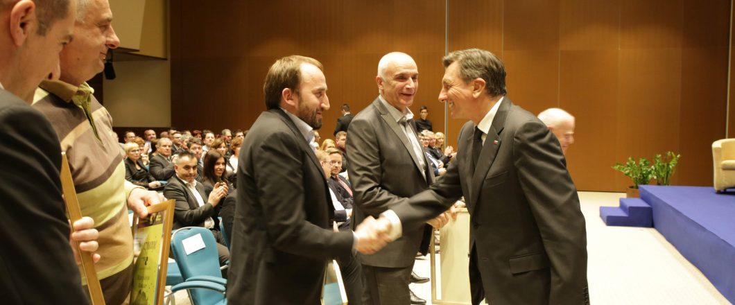 Matija Klinkon, Borut Pahor