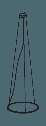 Standard suspension wire
